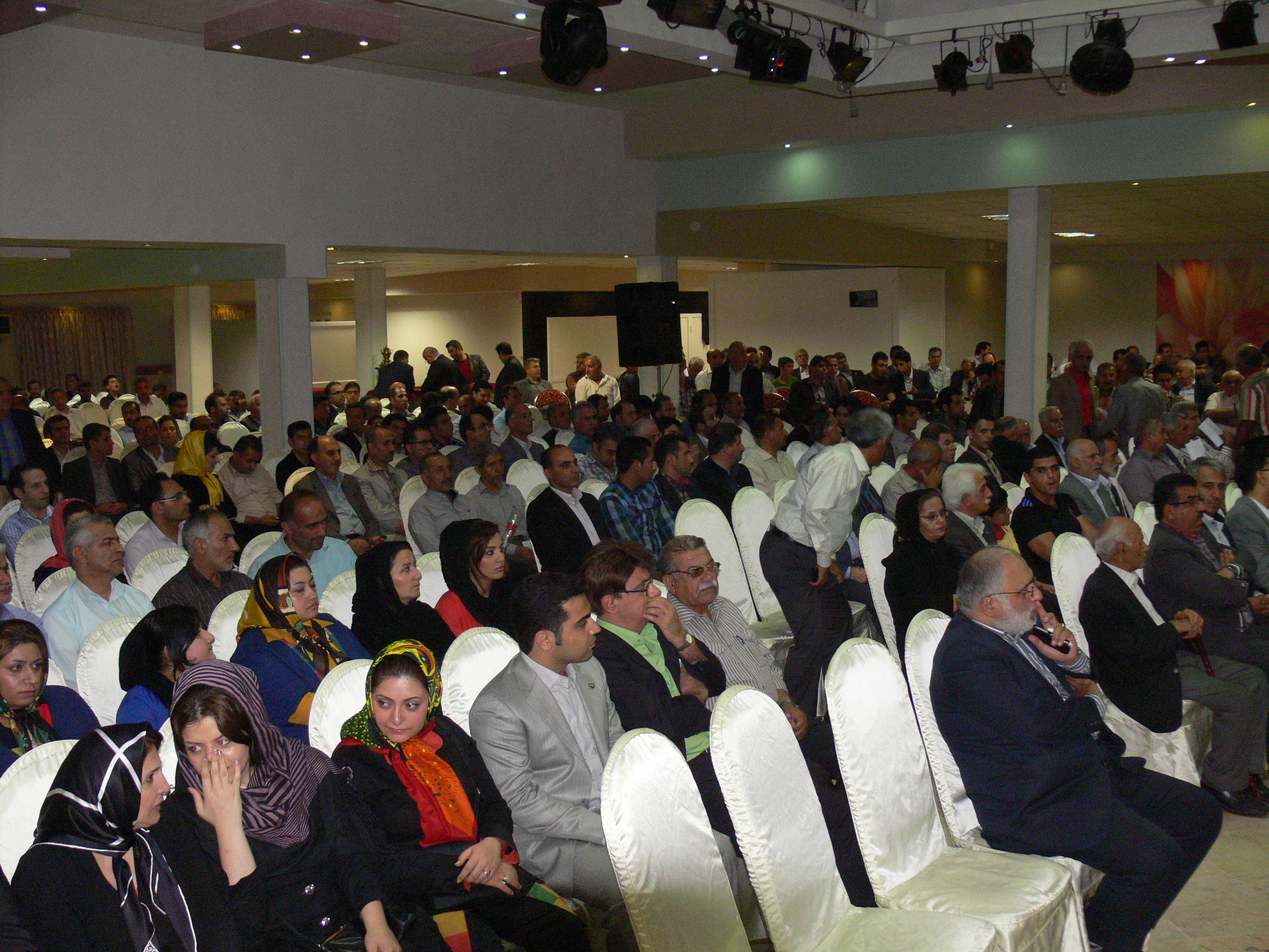 حضور پرشور خیرین در همایش های سالانه ی مجمع-مرداد ۹۲