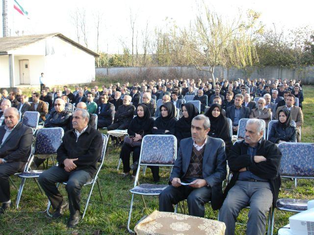 حضور پرشور فعالین صنفی آمل در همایش مشترک مجمع و صنوف - پروژه ساخت مرکز مجهز شیمی درمانی آمل