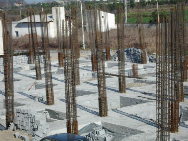 نمایی از پیشرفت فیزیکی پروژه ساخت مرکز مجهز شیمی درمانی آمل