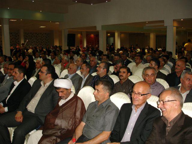 حضور فرماندار و شهردار محترم شهرستان آمل در همایش مجمع
